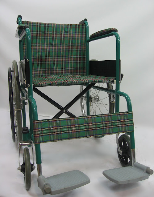 Kerusi Roda Mewah 豪华輪椅 Deluxe Wheelchair