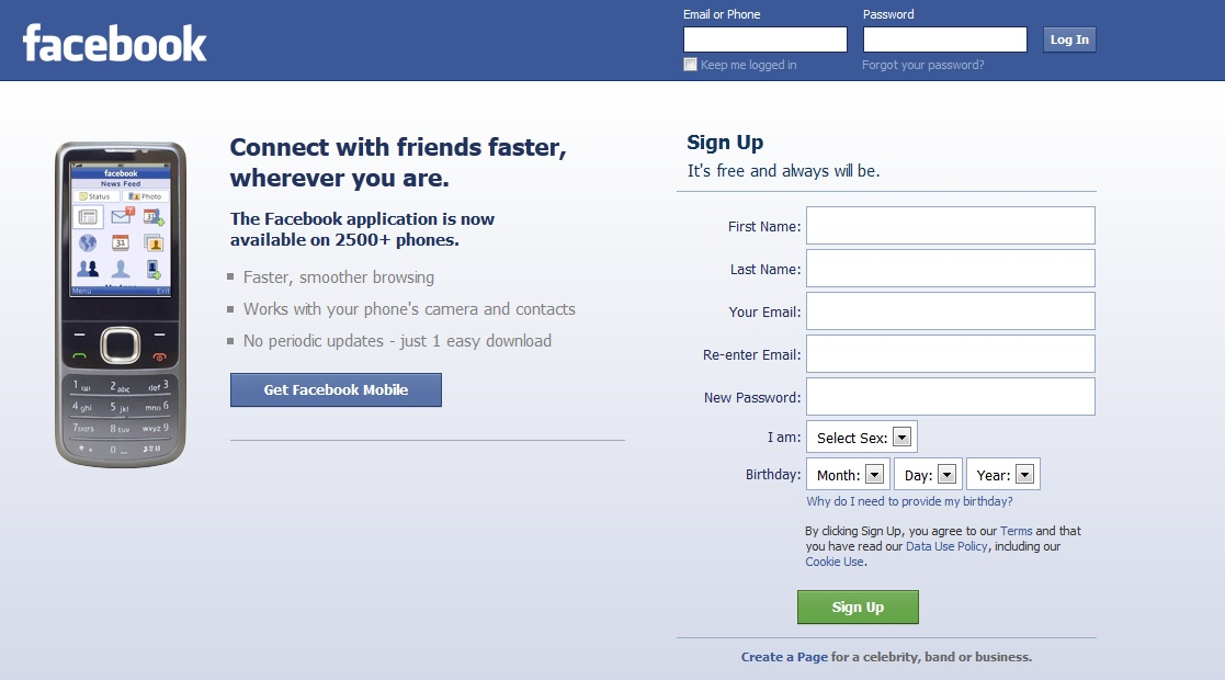 Facebook cm