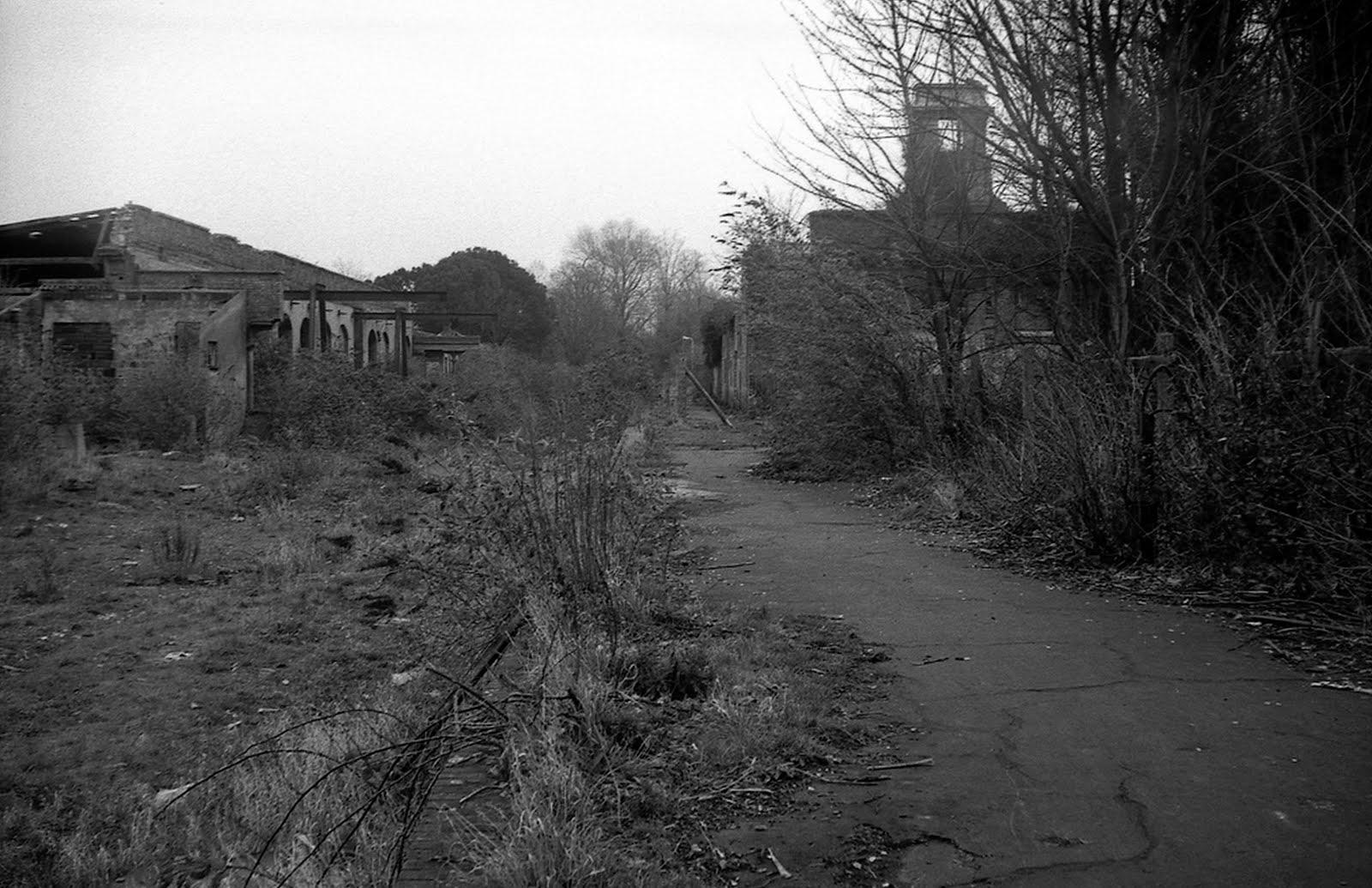 Gosport station derelict