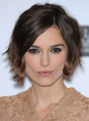 Keira Knightley Bob Back View When Starting With A Pixie