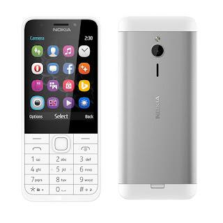 spesifikasi Nokia 230