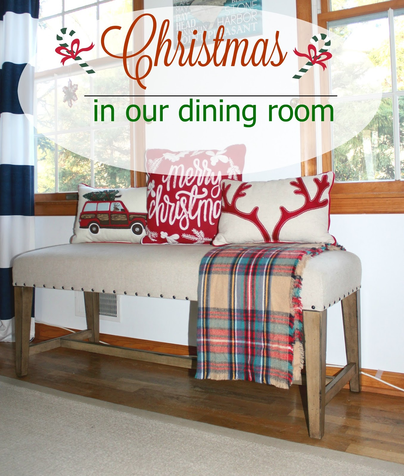 Christmas In Our New Dining Room & $500 Raymour & Flanigan