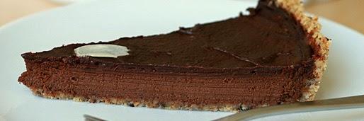 Kokosmilch-Schokoladen-Tarte