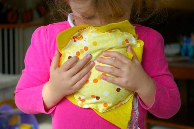 sunny sewing project