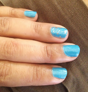 ChinaGlaze Blue nail polish