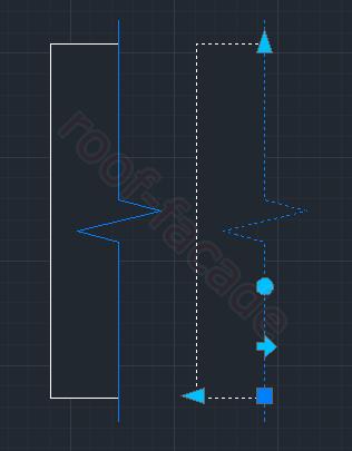 Как сделать линию отрыва