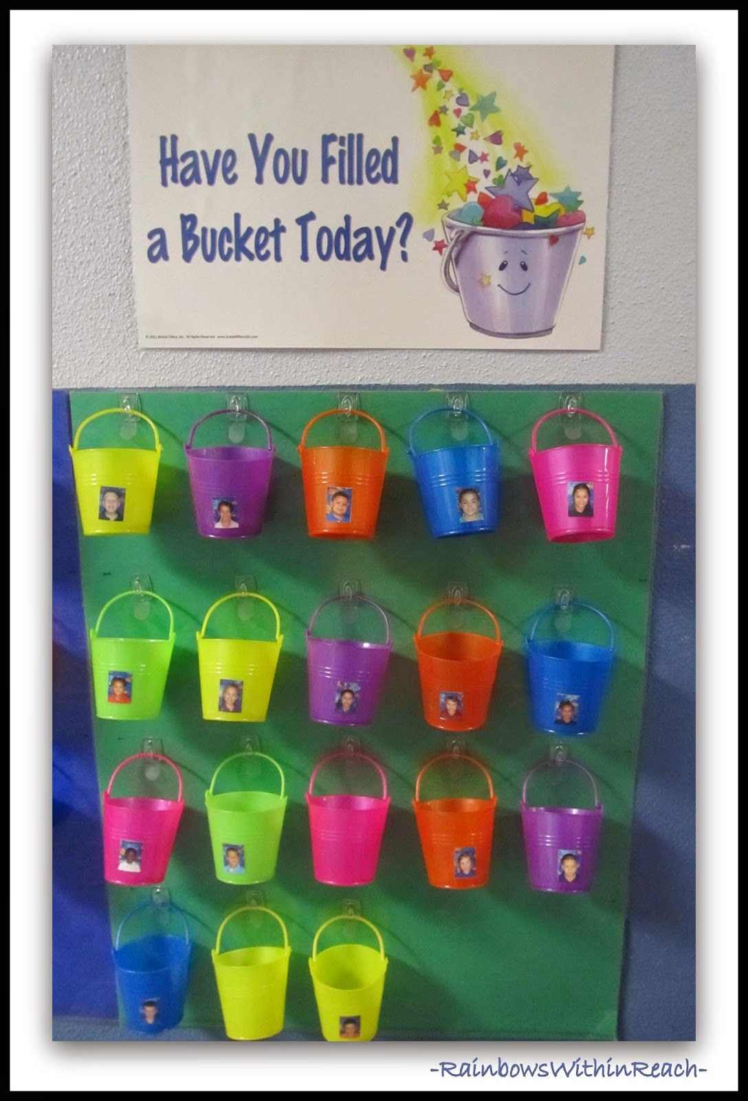 Bucket Filling System via RainbowsWithinReach