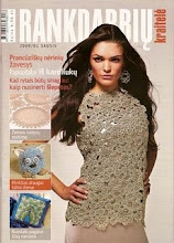 Mano rankdarbiai ant vireli/ My crafts on the cover