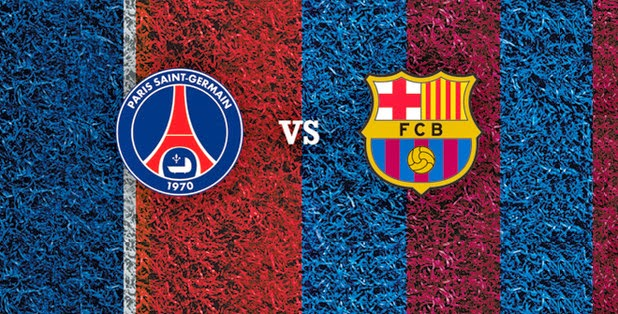 Paris Saint-Germain vs Barcelona Liga Champions 2015