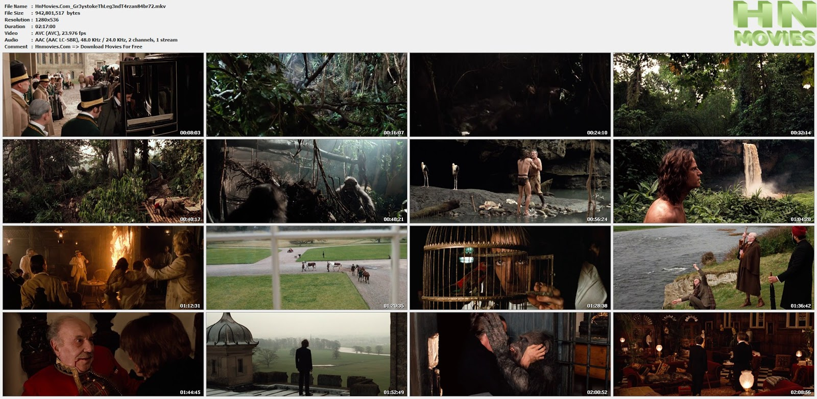 movie screenshot of Greystoke: The Legend of Tarzan, Lord of the Apes fdmovie.com