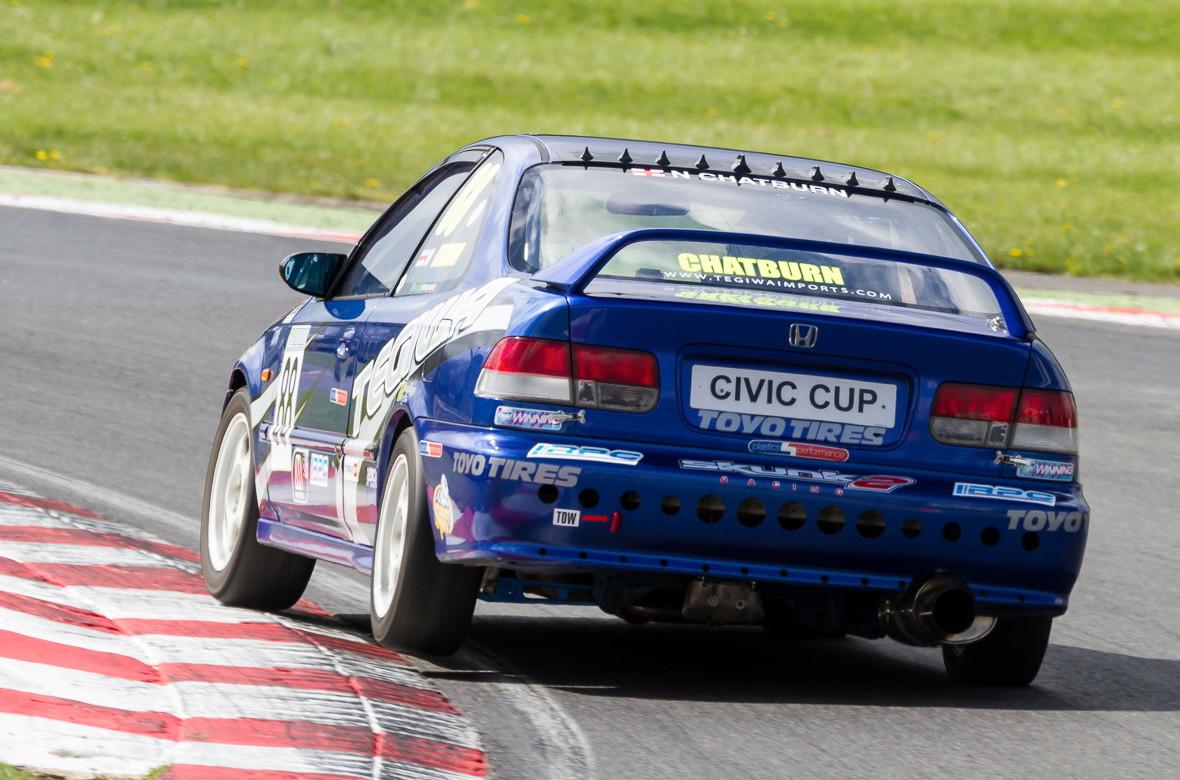 Tegiwa Civic Cup, racing, Honda