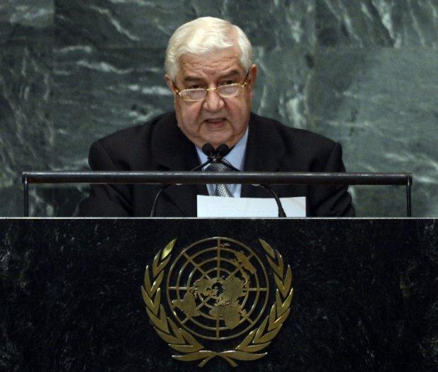 Ministro sírio acusou EUA, França e Reino Unido de encorajar ataque químico.