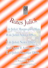 LAS RUTAS DE JULIO