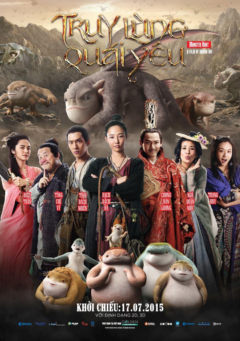 poster Truy lùng quái yêu