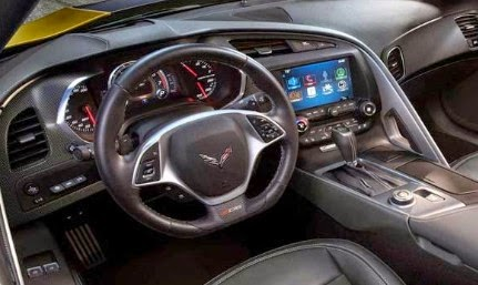 2015 Chevy Corvette Z06 Interior