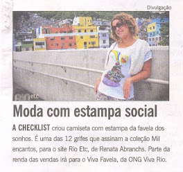 My work at O Globo