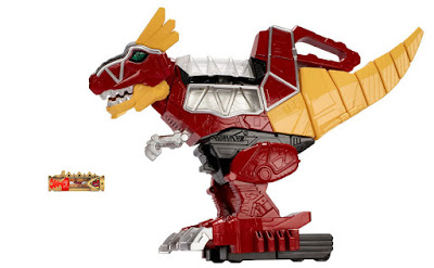 TOYS : JUGUETES - Power Rangers : Dino Charge - Rumble and Roar T-Rex Zord | Figura - Muñeco | Bandai 2015 | Comprar & buy