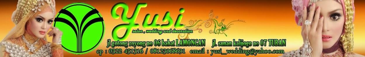 yusi salon, wedding  and decoration website