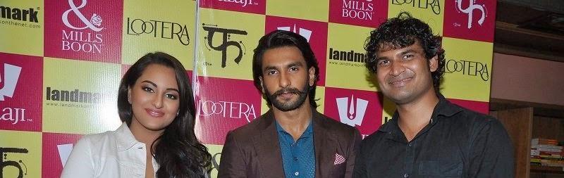 Ranveer Singh with Sonakshi Sinha