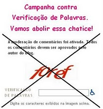 Campanha Contra Verificador de Palavras