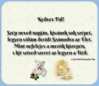 Január 25 - Pál névnap