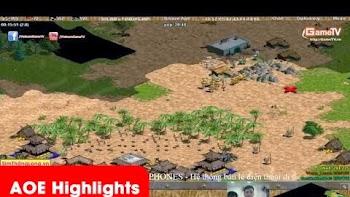 Aoe Highlights | Nông dân khởi nghĩa có khi là sở trường của No1