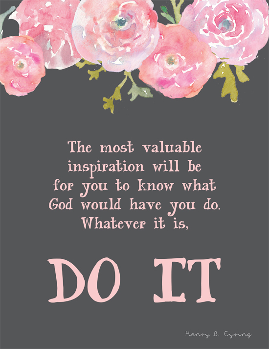 Printable quotes and sayings on pinterest general for Cute lds quotes