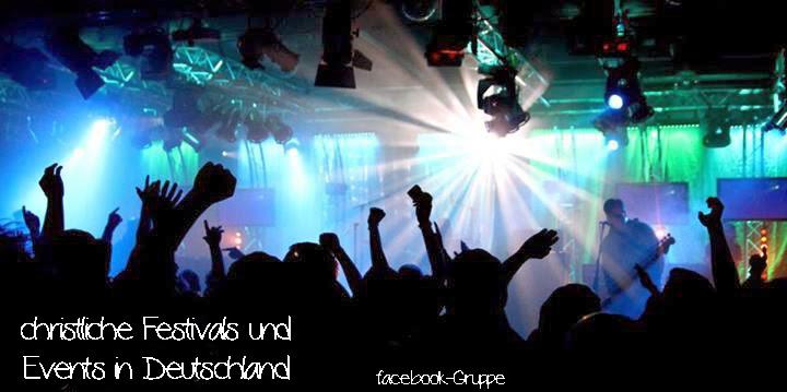 christliche Festivals und Events in Deutschland