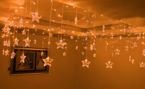 How To String Lights Bedroom : Home information, tips, remodeling, furniture, design and decor: String Lights In Bedroom
