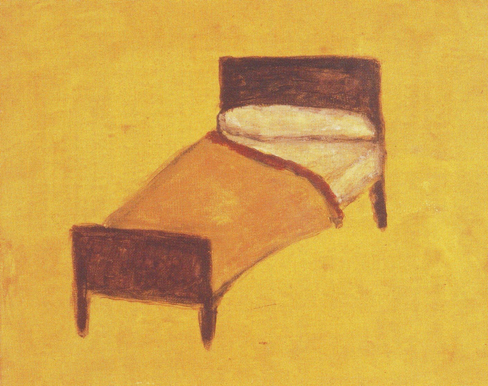 CCL - OBRAS: El viaje de una cama en Guillermo Kuitca