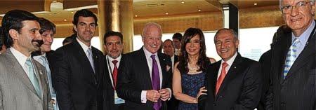 Cristina Kirchner y su lealtad con Inglaterra, Rockefeller