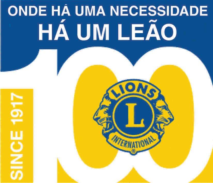 Logomarca do Centenário do Lions