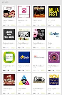 LifList: Aplicación móvil para eventos
