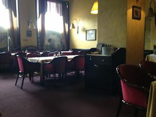 Speisesaal im Hotel Crna Gora in Podgorica