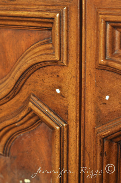 How to putty for new knob holes