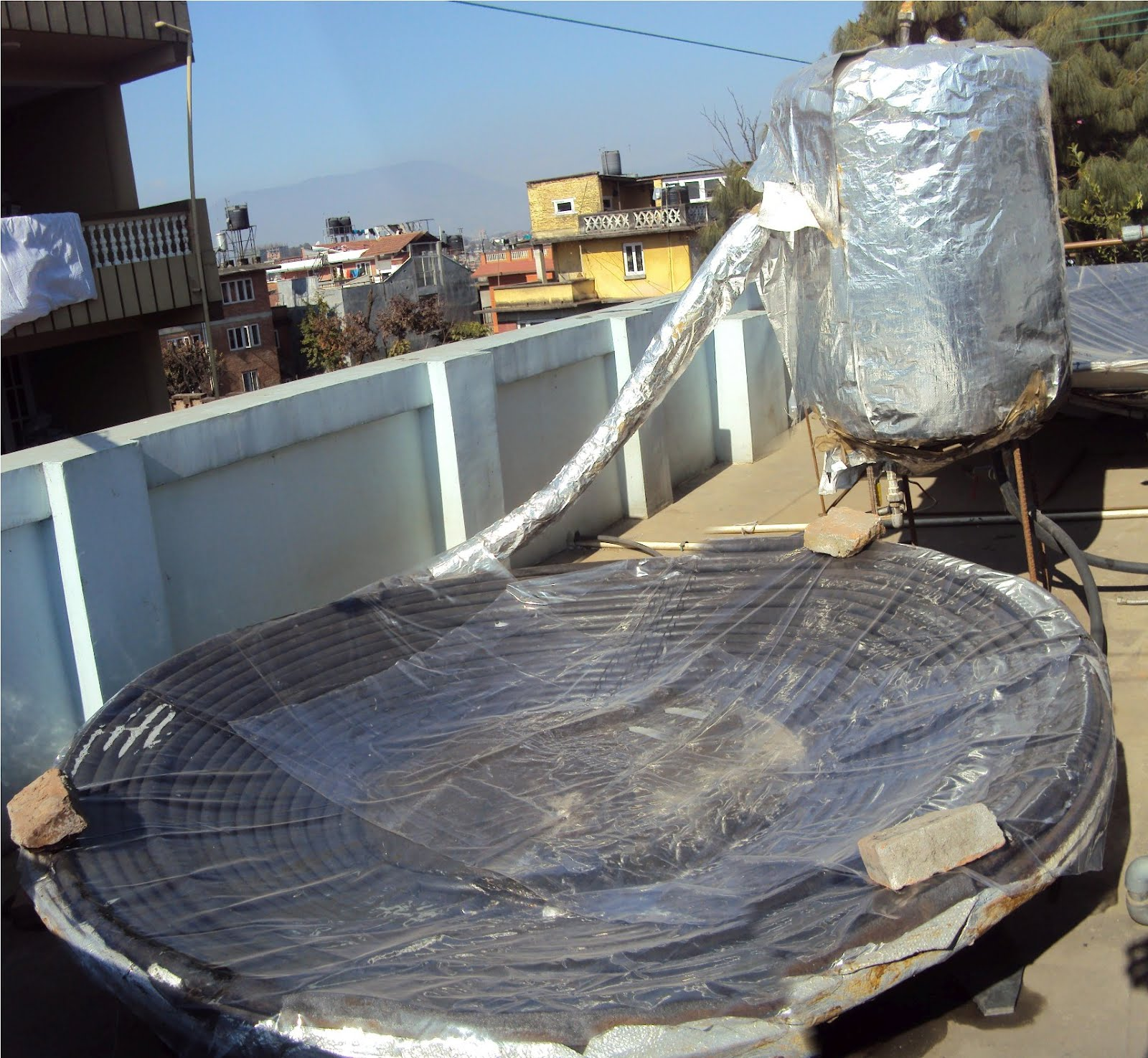 DIY Passive Solar Water Heater Innovation 100sft performance