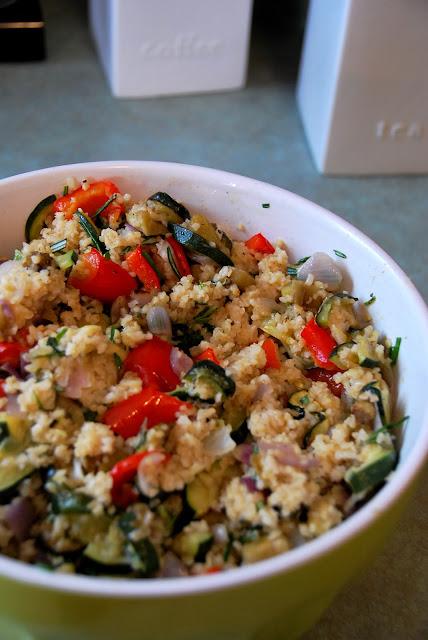 Jamie Oliver's Farro Salad With Roasted Veg