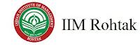 IIM Rohtak jobs