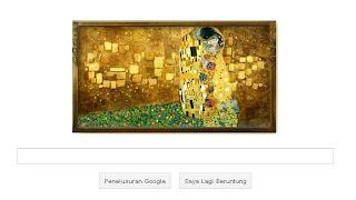 lukisan gustav klimt di google