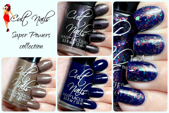 Cult Nails Super Powers Collection