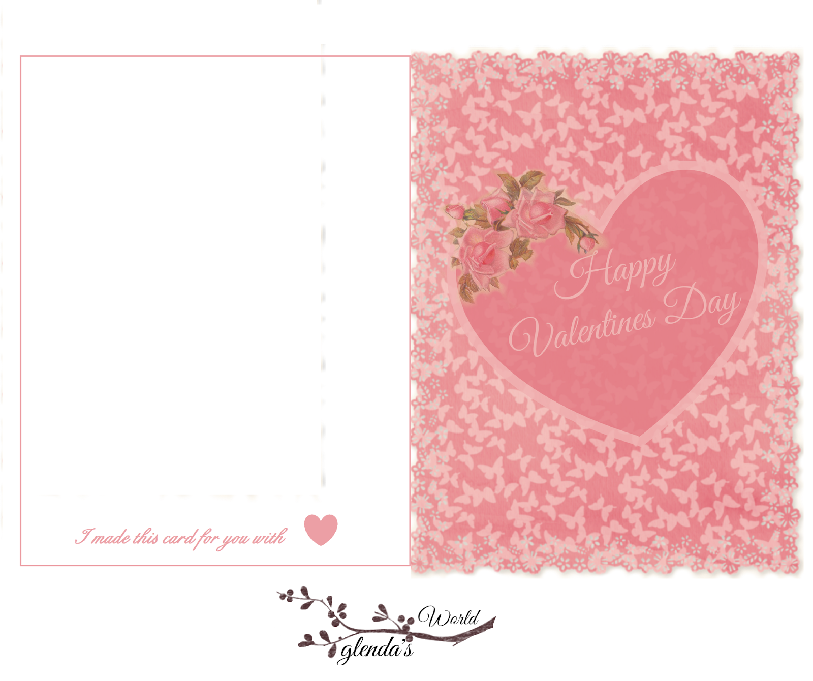 glendas World  All My Valentine Cards With Envelopes or Sleeves