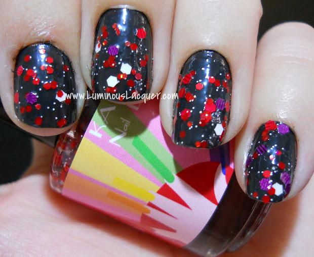 luminous lacquer kawaii nail