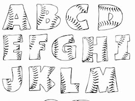 Free Stencil Letters Coloring Pages