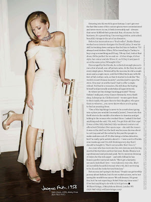 gillian anderson InStyle UK april 2012