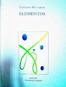 elementos (cuadernillo de la editorial la mariposa y la iguana)