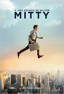 "Poster do filme ""A Vida Secreta de Walter Mitty"""