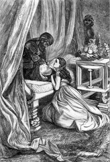 El sultà perdona a Xahrazad (Arthur Boyd Houghton)