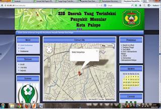 Website Dinas Kesehatan