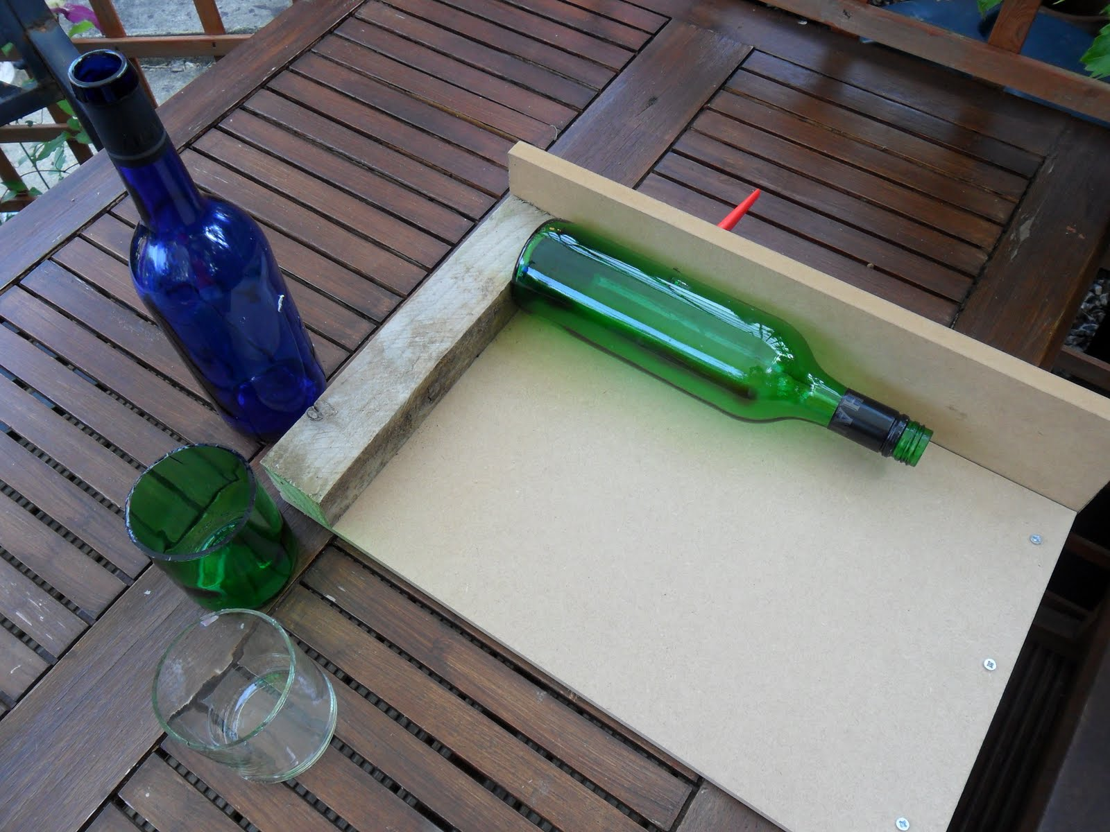 pics for homemade glass bottle cutter