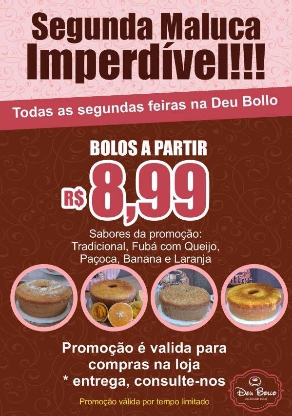 PROMOÇÃO DEU BOLLO